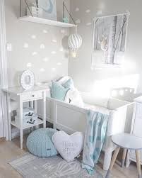 inspiration from instagram light grey and blue nursery