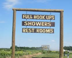 Rustic Arizona Signs Find Home In Manitoba RV Park
