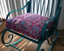 Light Gray Rocking Chair Cushions by Rocking Chair Cushion Etsy