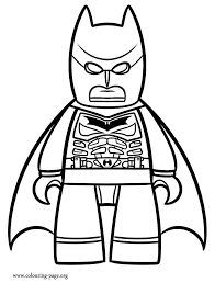 Lego Batman Coloring Sheets Inside The Movie Page