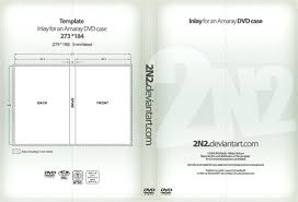 Cover Template Free Dvd Case Publisher