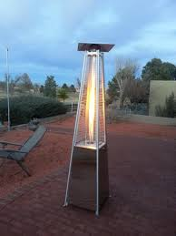 Gardensun Patio Heater Cover by Gardensun 40 000 Btu Stainless Steel Pyramid Flame Propane Gas