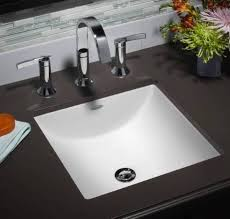 undermount rectangular sinks for the bathroom with a small size