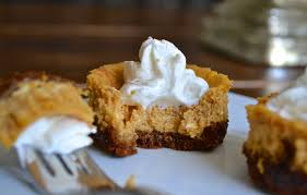 Gingersnap Pumpkin Pie Cheesecake by Mini Pumpkin Cheesecakes With Gingersnap Crust U2013 The Newlywed Chefs