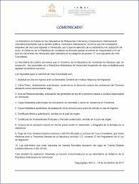 Honduras Aplica La Visa Consultada A Los Venezolanos Criteriohn