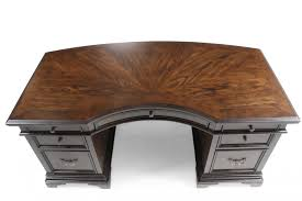 aspen essex 66 curved executive desk mathis brothers furniture