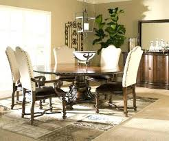 Nailhead Dining Room Set Chairs With Trim Amazing