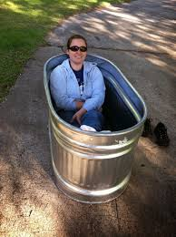 4ft Bathtubs Home Depot by Just Right Bus Living With A Water Trough Bathtub
