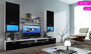 Incredible Ideas Living Room Packages With Tv 3 Modern Furniture Set TV Stand Unit