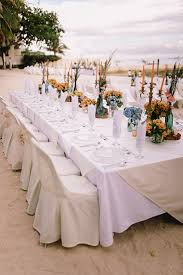 Formal Reception Dinner On The Beach