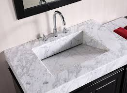 60 Inch Double Sink Vanity Without Top by Design Element Odyssey Double Trough Style Sink Vanity Set 90
