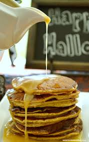 Pumpkin Pancakes W Bisquick by Pumpkin Pancakes With Maple Butter Glaze Toot Sweet 4 Two