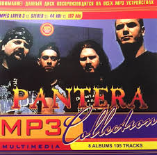 pantera mp3 collection cdr at discogs