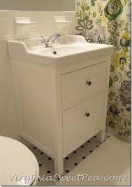 Ikea Bathroom Sinks Ireland by Bathroom Renovation Update How To Install An Ikea Hemnes Sink