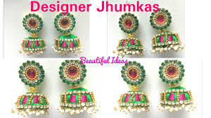How To Make Silk Thread Designer Jhumkas.Earrings At Home. DIY ... How To Make Pearl Bridal Necklace With Silk Thread Jhumkas Quiled Paper Jhumka Indian Earrings Diy 36 Fun Jewelry Ideas Projects For Teens To Make Pearls Designer Jewellery Simple Yet Elegant Saree Kuchu Design At Home How Designer Earrings Home Simple And Double Coloured 3 Step Jhumkas In A Very Easy Silk Earring Bridal Art Creativity 128 Jhumka Multi Coloured Pom Poms Earring Making Jewellery Owl Holder Diy Frame With