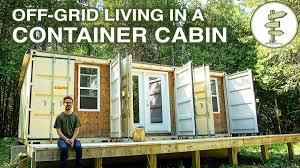 100 Living In Container OffGrid In A SelfBuilt 20ft Shipping