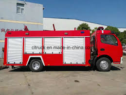 100 Fire Truck Red Hot Item Water And Foam Df Of 56m3 Fighting