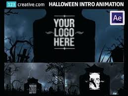 After Effects Template Horror Intro Animation Effect Adobe Text Templates Free Download