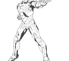 Iron Man Coloring Pages Free Printable For Kids Best Online
