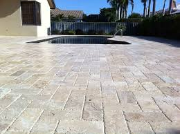 flooring awesome travertine pavers for inspiring floor ideas