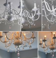 Reineke Paint And Decorating by Diy Chandelier Before U0026 After For Little U0027s Room Sugar