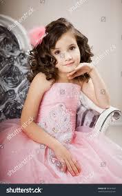 beautiful child on chair nice stock photo 90741827 shutterstock