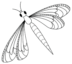 Dragonfly Coloring Pages Page Cute For Kids Best Butterflies Dragonflies Patterns