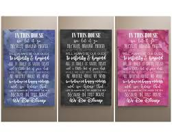 Disney Canvas Wall Art Beautiful Design Collection Ideas For Your Sweet Kids Room Quote Nursery Decor Playroom The White Invite