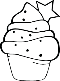 Coloring Pages Of Pretty Cupcakes Cute Cupcake Cake Book Printable For Adults