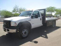 100 F550 Truck USED 2006 FORD FLATBED TRUCK FOR SALE IN AZ 2335