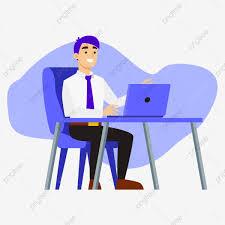 Trabalho Horas Extras Escritório Computador Negócios