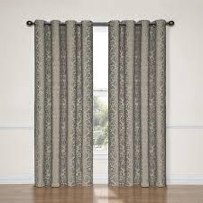 Eclipse Room Darkening Curtain Rod by Amazon Com Eclipse 12996052084blk Nadya 52 Inch By 84 Inch
