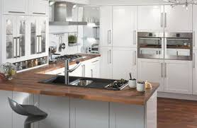 Small Narrow Kitchen Ideas by Kitchen Cool Brown Wood Countertop Plus Wonderful Black Sink
