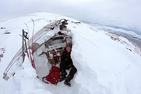 Paul In Front Of The Hut After He Decided To Stop Digging