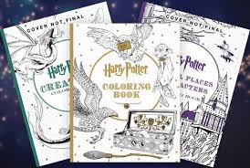 The Quicker Alternative To Reading All Books Harry Potter Coloring Book 3 Pack 3354
