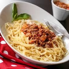 recette spaghettis à la viande hachée