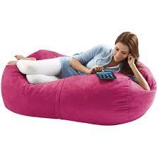 Jaxx Bean Bags Sofa Saxx Lounger, 4-Feet, Fuchsia Microsuede ...