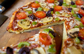 The Chewy Flavourful Crust For This Pizza Is Made With Garbanzo And Fava Bean Flour Other Gluten Free Ingredients Use Your Preferred Toppings
