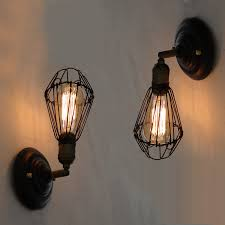 vintage loft american edison light bulb wall l home decorative