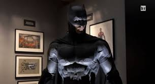 Long Halloween Batman Suit by Batman Vs Superman Batmobile And Costume Images Show An Even