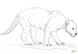 Black Panther Coloring Page