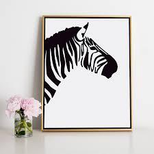 Black Zebra Canvas Art Pinterest Pink Zebra Canvas And