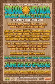 SIERRA NEVADA WORLD MUSIC FESTIVAL POSTERS