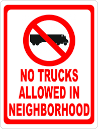 No Trucks Allowed In Neighborhood Sign | Rules & Regulations ... This Sign Says Both Dead End And No Thru Trucks Mildlyteresting Fork Lift Sign First Safety Signs Vintage No Trucks Main Clipart Road Signs No Heavy Trucks Day Ross Tagg Design Allowed In Neighborhood Rules Regulations Photo For Allowed Meashots Entry For Heavy Vehicles Prohibitory By Salagraphics Belgian Regulatory Road Stock Illustration Getty Images