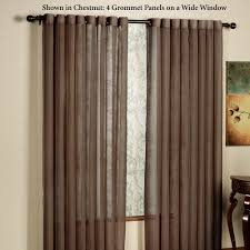 120 Inch Linen Curtain Panels by Arm And Hammer Curtain Fresh Odor Neutralizing Curtain Panels
