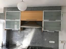 küchenschränke gebraucht 1 x 80 cm glaseinlegeboden faktum