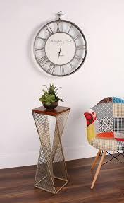 Accessories Geometric Metal Pedestal Plant Stands Indoor 40