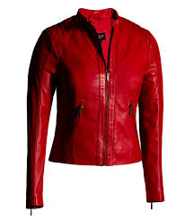 colored leather jackets designer fashion real genuine leather