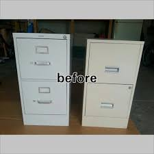 Alas 3 Lads DIY Project Painted Metal File Cabinet
