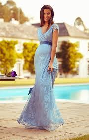 eden maternity gown long dusk blue maternity wedding dresses